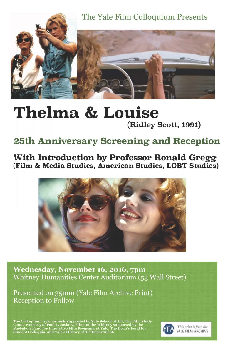 thelma and louise gender analysis Chapter four the daughters of thelma and louise new aesthetics of the road jessica enevold introduction n their critical analysis of.
